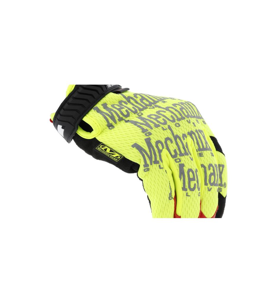 The Original® Hi-Viz D4-360 Cut Resistant, Fluorescent Yellow, large image number 2
