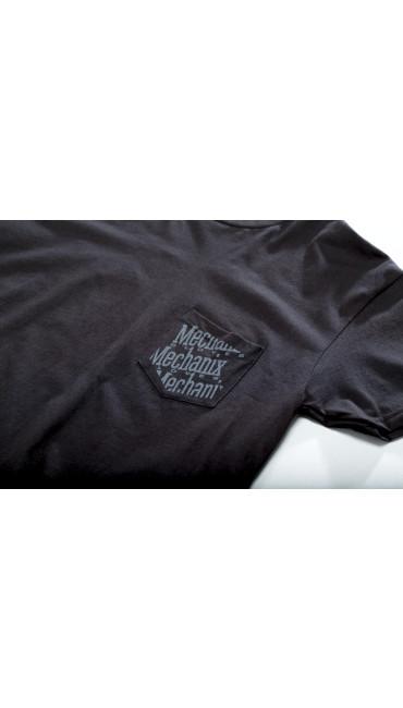 Pocket T-Shirt, Black, large