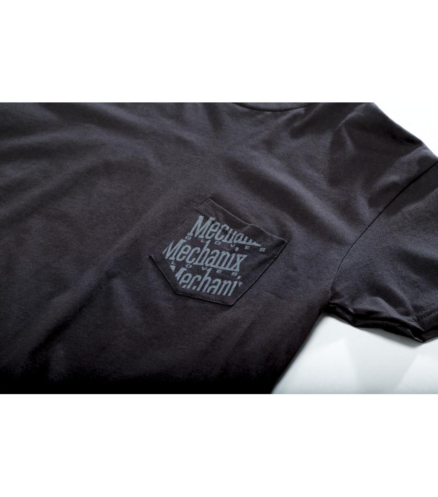 Pocket T-Shirt, Black, large image number 1