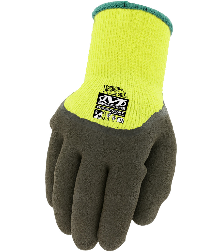 Hi-Viz SpeedKnit™ Thermal, Fluorescent Yellow, large image number 0