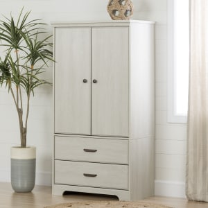 Versa - 2-Door Armoire with Drawers