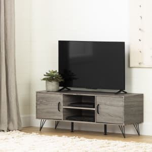 Evane - TV Stand with Doors