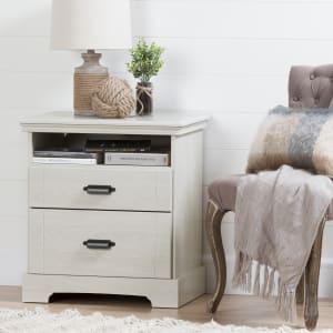 Avilla - Table de chevet 2 tiroirs