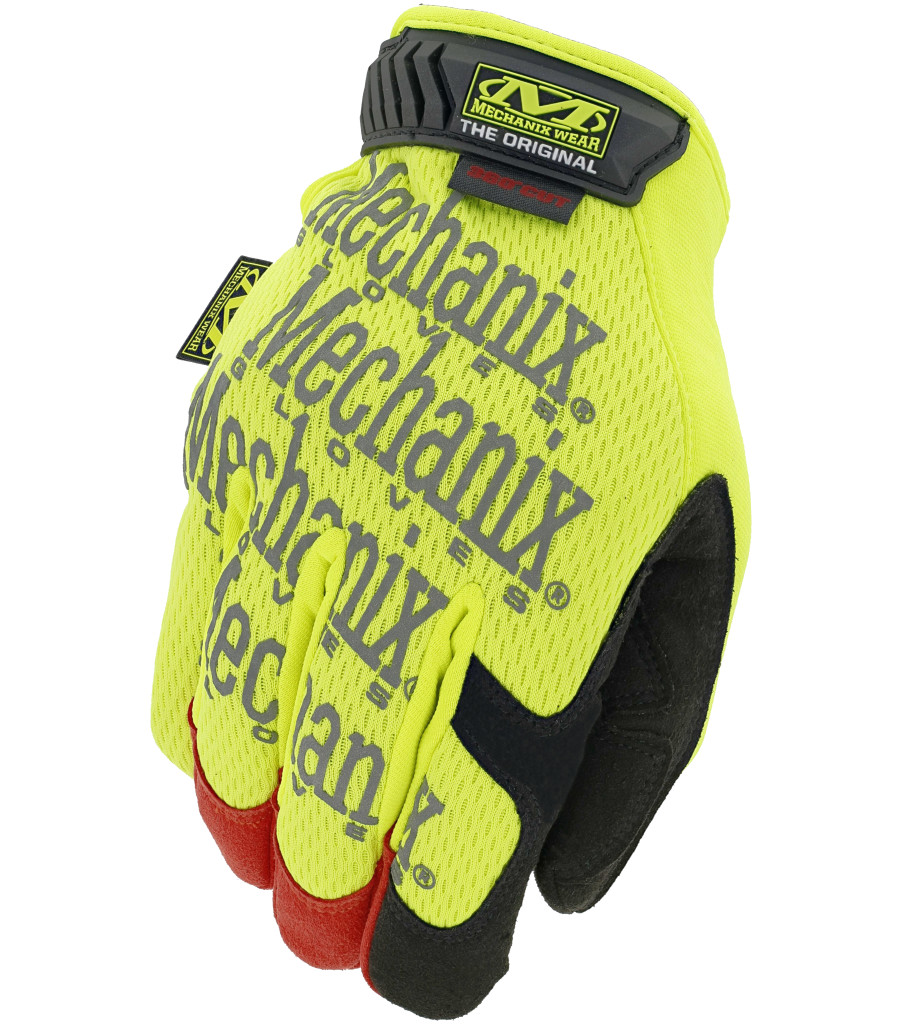 The Original® Hi-Viz D4-360 Cut Resistant, Fluorescent Yellow, large image number 0