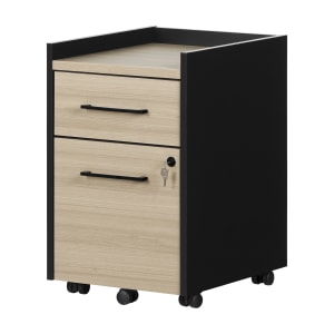Kozack - 2-Drawer Mobile File Cabinet