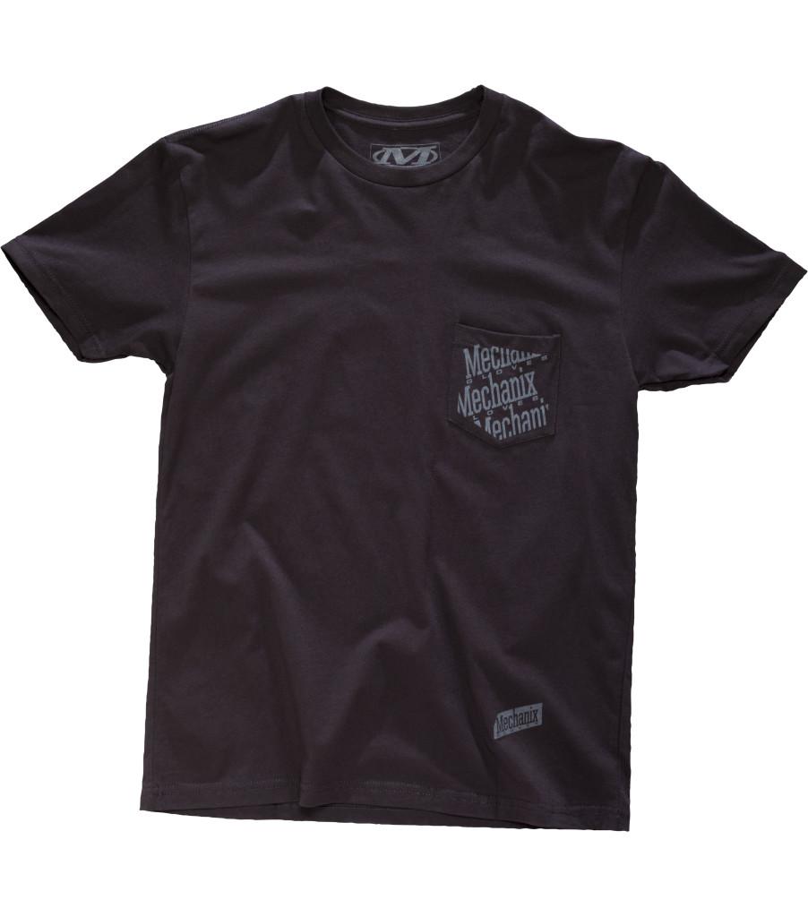 Pocket T-Shirt, Black, large image number 0