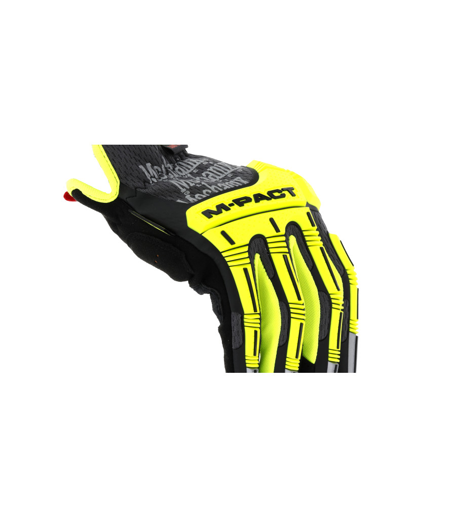 Hi-Viz M-Pact® Open Cuff E5, Fluorescent Yellow, large image number 2
