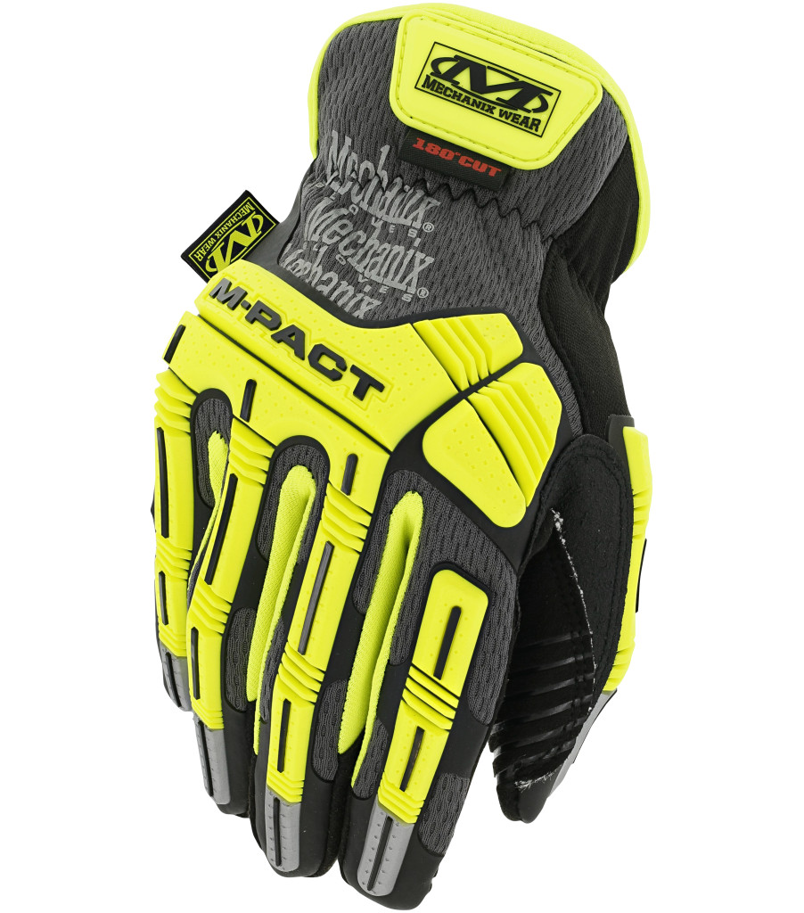 Hi-Viz M-Pact® Open Cuff E5, Fluorescent Yellow, large image number 0