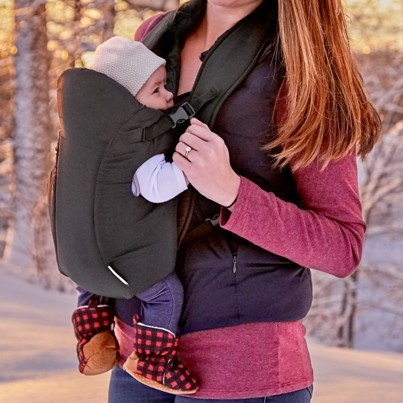 Infant Carrier (Creamsicle) Lifestyle Photo