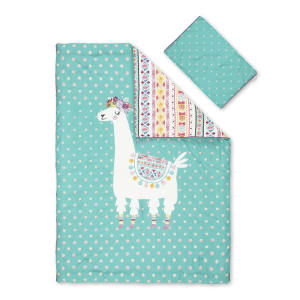 Dreamit - Comforter and Pillowcase Festive Llama