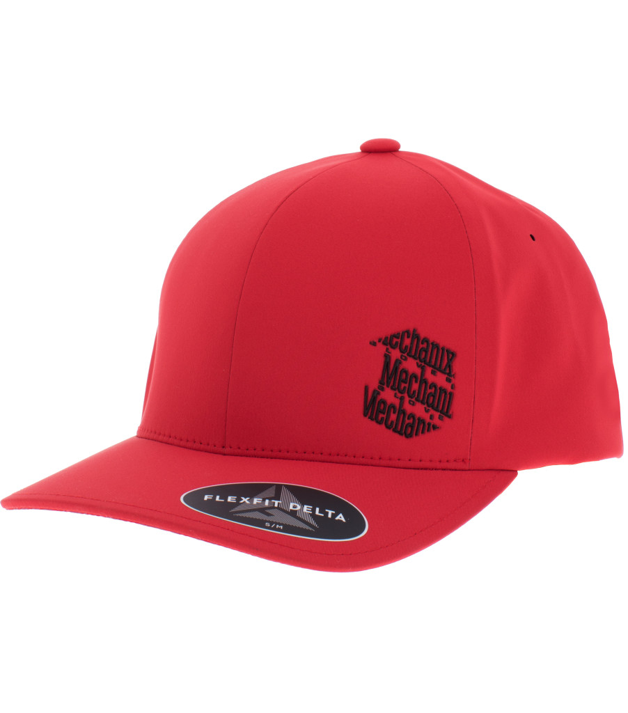 Red Icon Hat, Red, large image number 0