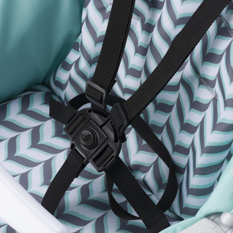 Symmetry® High Chair (Spearmint Spree) Lifestyle Photo