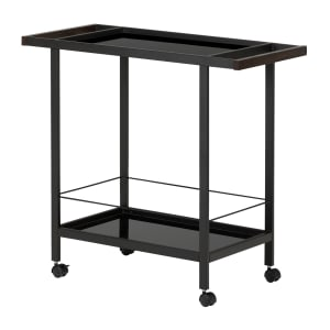 City Life - Metal Bar Cart on Wheels