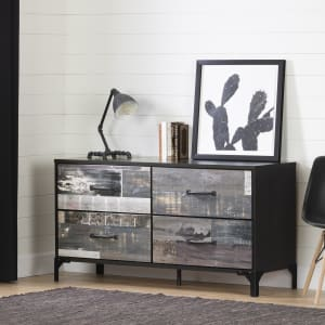 Valet - 4-Drawer Double Dresser