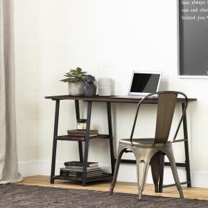 Evane - Industrial Desk with Storage