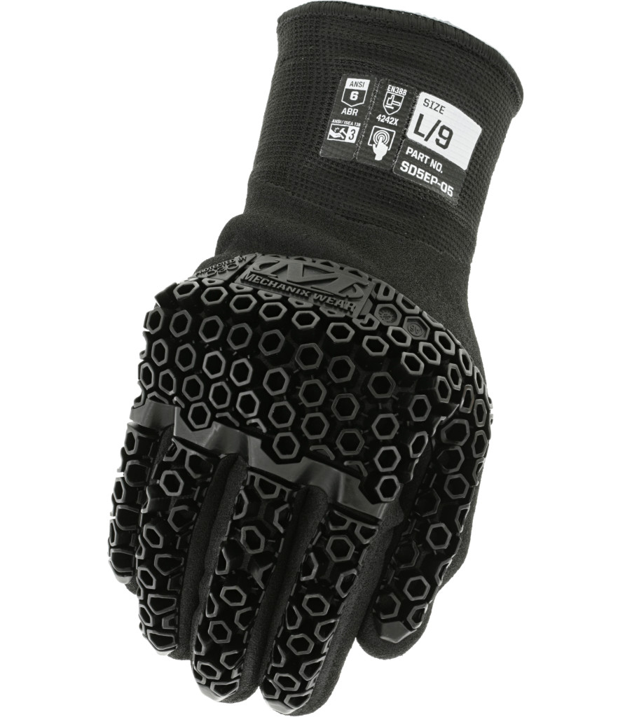 SpeedKnit™ M-Pact® D3O® Thermal SD5EP05, Black, large image number 0