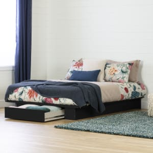 Holland - Platform Bed with drawer