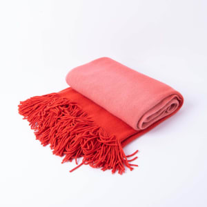 Lori - Ombre Throw with Fringe