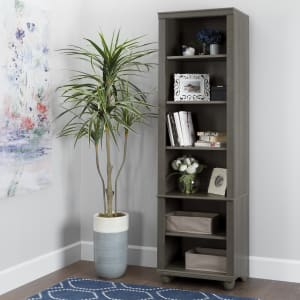 Hopedale - Narrow 6-Shelf Bookcase