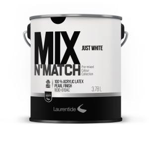 Mix & Match - Peinture d'intérieur au latex perle