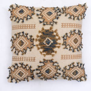 Tribu - Pillow with Block Print