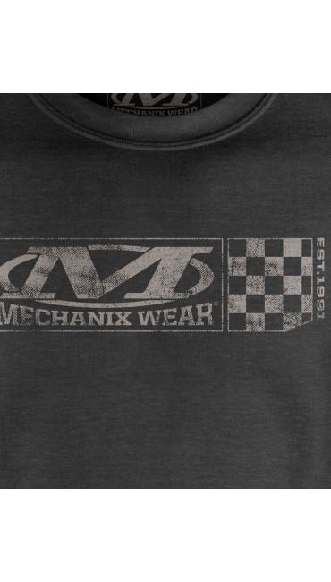 Velocity Crew Sweatshirt, Charcoal, large
