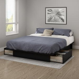 Gramercy - Platform Bed with Drawers