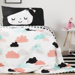 Dreamit - Douillette et taie d'oreiller Jardin de nuit