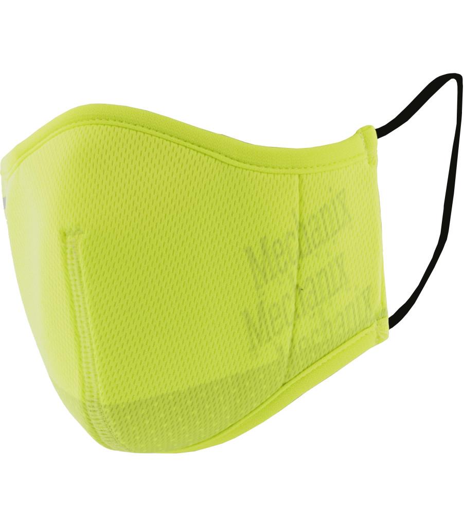 Hi-Viz Reusable Face Mask, Fluorescent Yellow, large image number 0