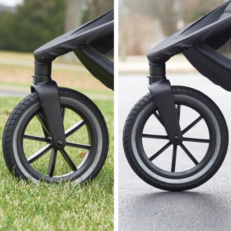 Folio3 Stroll & Jog Travel System with LiteMax 35 Infant Car Seat (Avenue) Lifestyle Photo