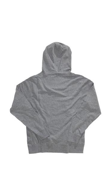 Original Hoodie, Grey Heather, large