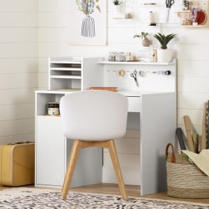 Crea - Craft Table with Hutch