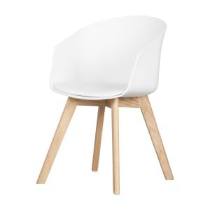 Flam - Chaise avec base en bois