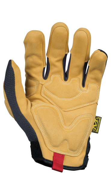 Material4X® Padded Palm, 棕色/黑色, large