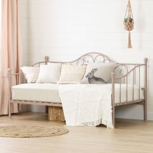 Lily rose - Metal Daybed with Metal Slats