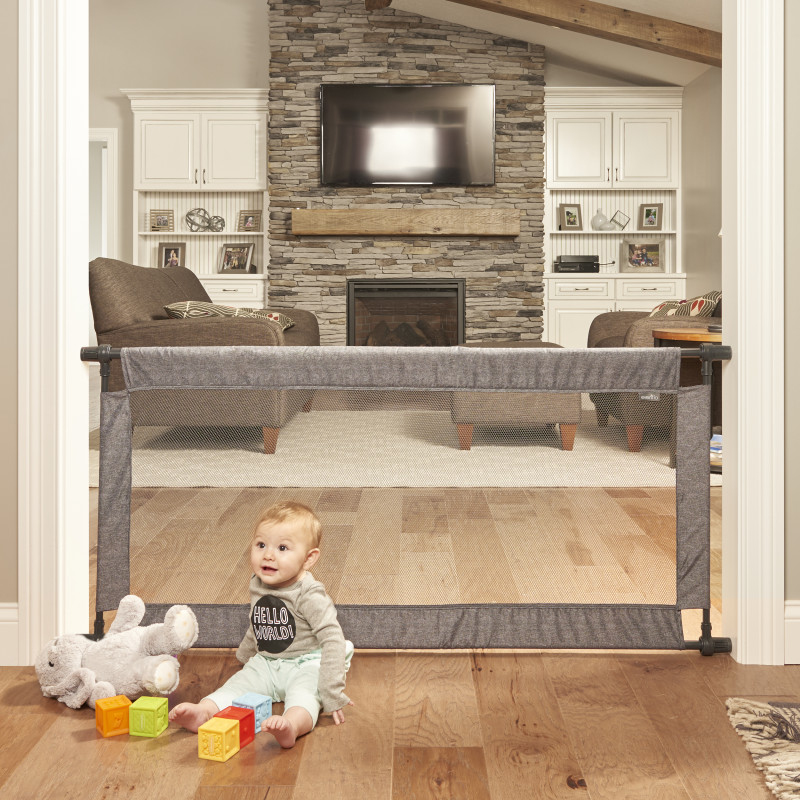 Soft & Wide™ Baby Gate (Emery) Lifestyle Photo