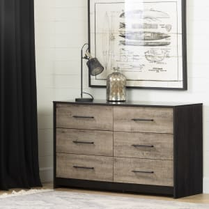 Londen - 6-Drawer Double Dresser