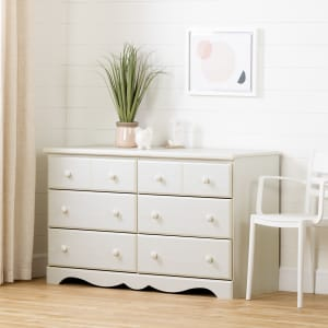 Summer Breeze - 6-Drawer Double Dresser