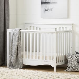 Savannah - Baby Crib 4 Heights with Toddler Rail