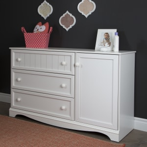 Savannah - 3-Drawer Dresser with Door