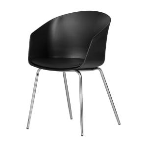 Flam - Chaise avec base en métal