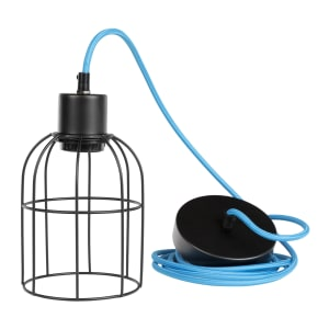 Plog-it - Hanging lamp with bell shade