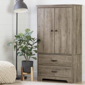 Versa - 2-Door Armoire with Drawers