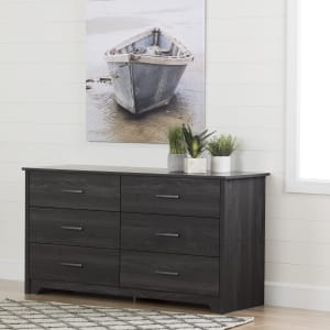 Fusion - 6-Drawer Double Dresser