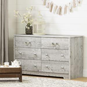 Aviron - 6-Drawer Double Dresser