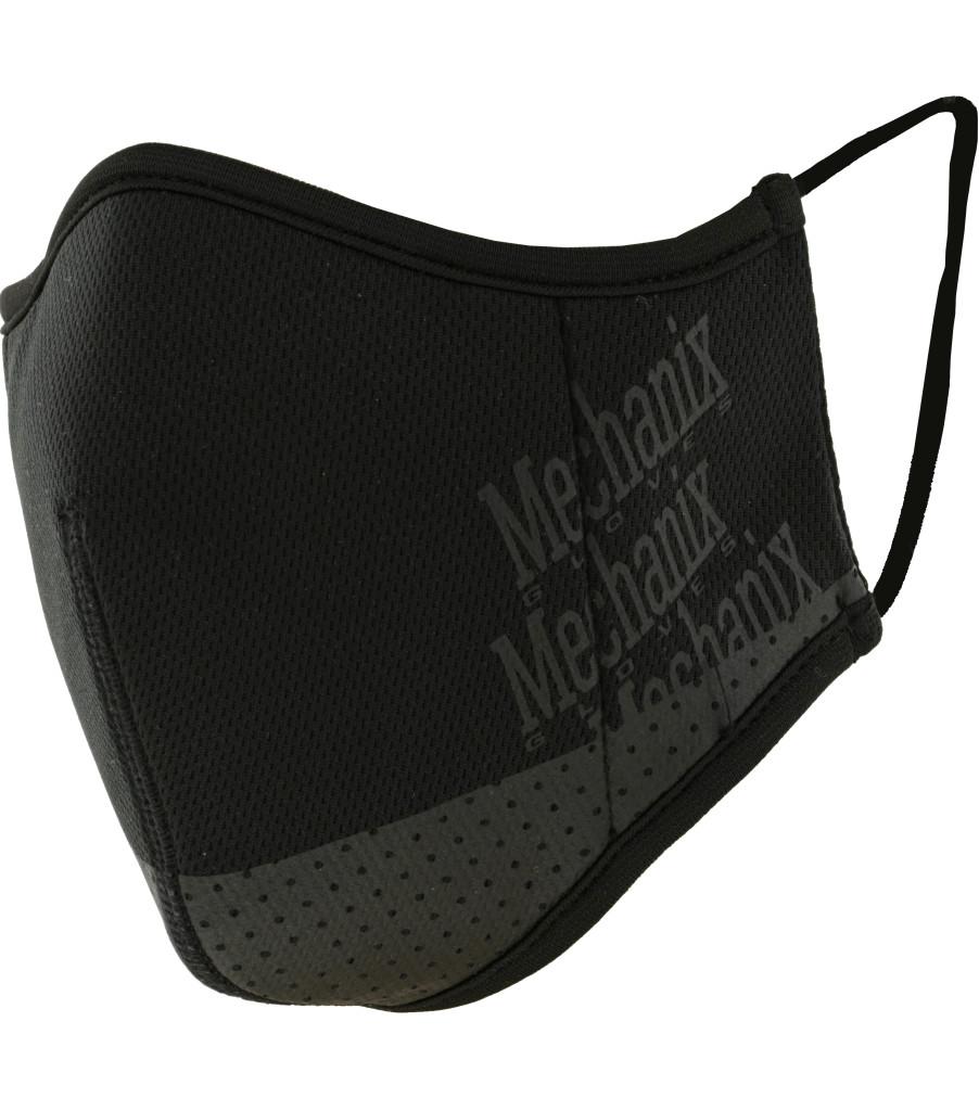 Black Reusable Face Mask, Black, large image number 0