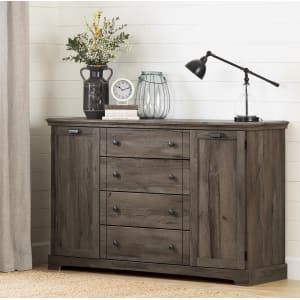 Avilla - 4-Drawer Dresser with Doors