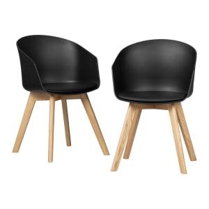 Flam - Ensemble de 2 chaises de salle à manger