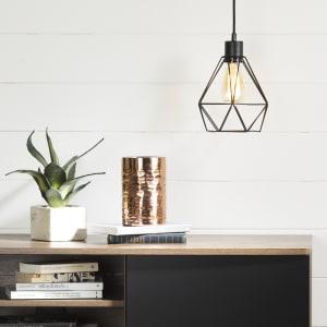 Plog-it - Hanging lamp with geometric shade
