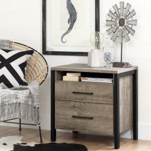 Munich - 2-Drawer Nightstand